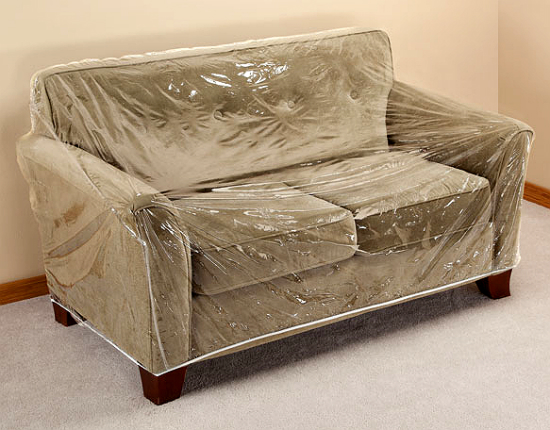 clear couch cover