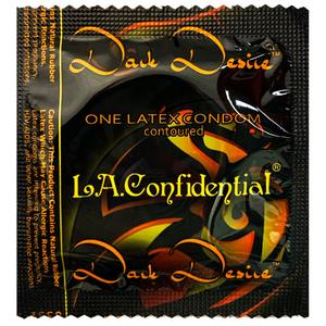 L.A. Confidential Dark Desire Contoured Condoms