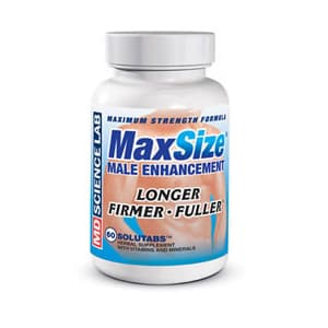 MAX SIZE Male Enhancement by MD Science