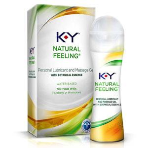 K-Y Natural Feeling with Botanical Essence