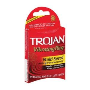 Trojan Vibrating Multi-Speed Ring