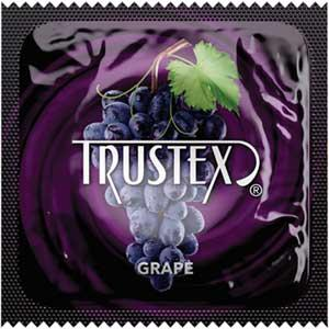 Trustex Grape Flavored Condoms