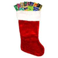 100 Condom Holiday Stocking Sampler with FREE Overnight Shipping