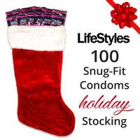 LifeStyles 100 Snug Fit Condoms Stocking