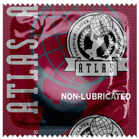 Atlas Non-Lubricated Condoms