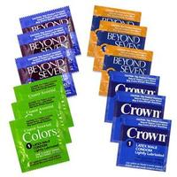 Beyond Seven Condom Sampler Pack
