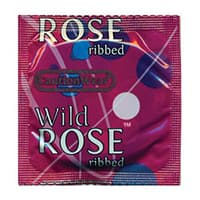 Caution Wear Wild Rose Condoms