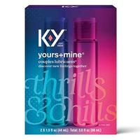 K-Y Yours+Mine Couples Lubricant