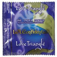 L.A. Confidential Love Triangle Condoms