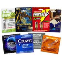 Large Condom Weekend Enhancer Pack
