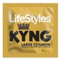 LifeStyles KYNG (GOLD) Large Condoms