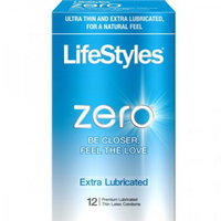 Lifestyles Zero Extra Lubricated