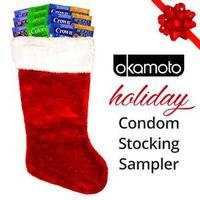 Okamoto Condoms Holiday Stocking Sampler