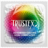 Trustex Assorted Colors Non-Lubricated Condoms