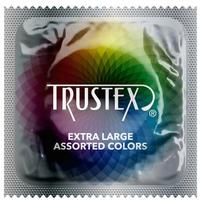 Trustex Extra Large Assorted Colors LUBRICATED