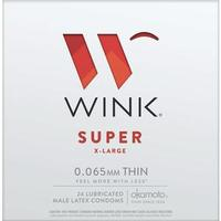 Wink Super XL Condoms