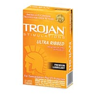 Trojan Ultra Ribbed Condoms