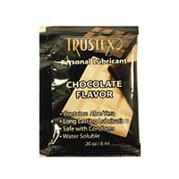 Trustex Chocolate Flavored Lubricant Foil Packs