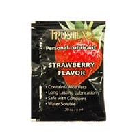Trustex Strawberry Flavored Lubricant Foil Packs